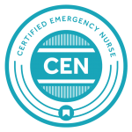 Certified Emergency Nurse Certification Logo