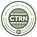Certified Transport Registered Nurse Certification Logo