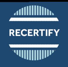 recertify
