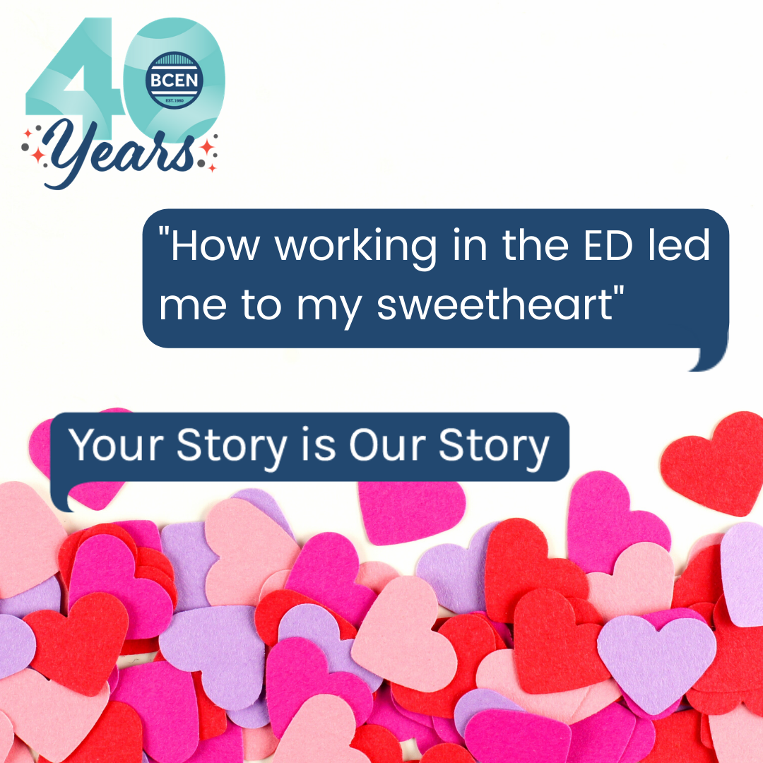 How working in the ED led me to my sweetheart
