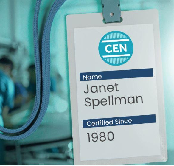 Janet Spellman, Certified Since 1980
