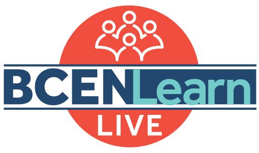 Bcen learn live logo